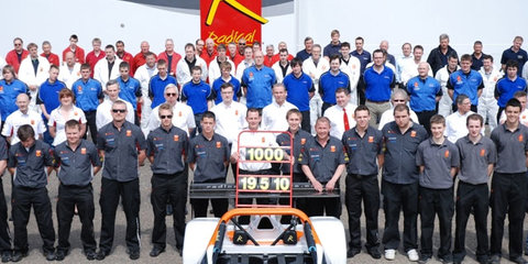 Radical Celebrates producing 1000 vehicles