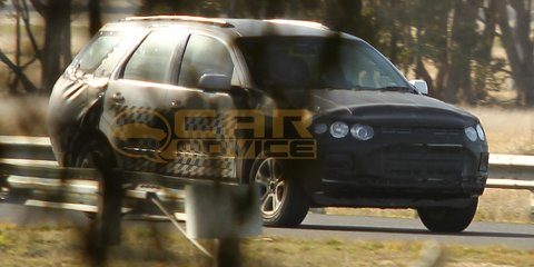2011 Ford Territory Spy Photos