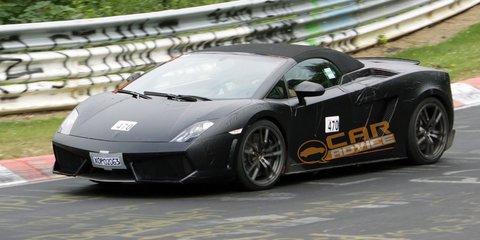 Lamborghini Gallardo Spyder LP570-4 Superleggera spyphotos