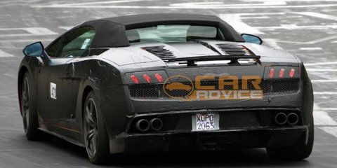 Lamborghini Gallardo Spyder LP570-4 Superleggera spyphotos