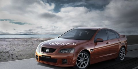 Holden Commodore VE2 SS V-Series and Interior Revealed