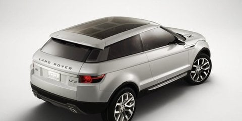 Range Rover Evoque first official image