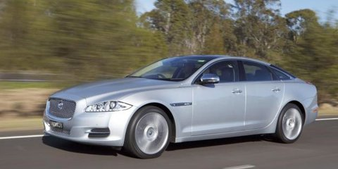 2010 jaguar xj goes on sale in australia photos caradvice. Black Bedroom Furniture Sets. Home Design Ideas