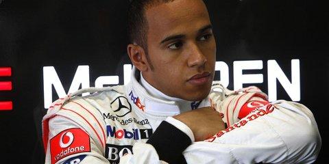 Lewis Hamilton receives $500 fine under hoon laws