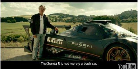 Video: Pagani Zonda R creator Horacio Pagani talks about the Nurburgring lap record