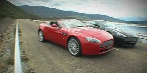 Aston Martin V8 Vantage Video Review
