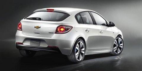 Chevrolet Cruze hatchback designed and built by Holden