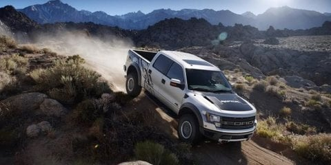 2011 Ford F-150 SVT Raptor SuperCrew with five seats