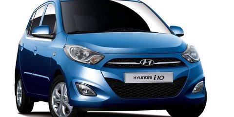 Hyundai i10 makeover ready for Paris Motor Show