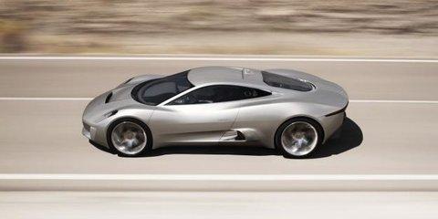Video: Jaguar C-X75 Concept car rolling footage