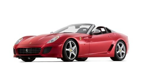 Ferrari SA APERTA images released prior to Paris show debut