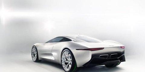 Jaguar C-X75 at LA Auto Show