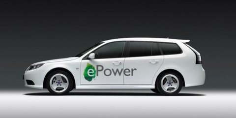 Saab 9-3 ePower EV to debut at 2010 Paris Motor Show