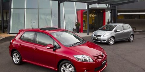 2011 Toyota Yaris, Corolla get more value