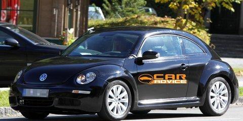 2011 Volkswagen Beetle spy shots