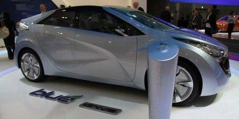 Hyundai Blue-Will Concept at 2010 AIMS
