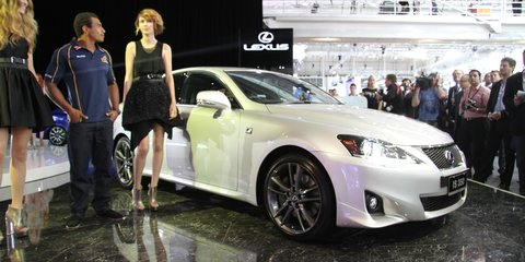 Lexus IS350 at AIMS 2010