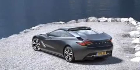 Video: Lotus Elite Convertible concept