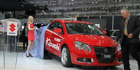 Suzuki Kizashi Turbo at 2010 AIMS