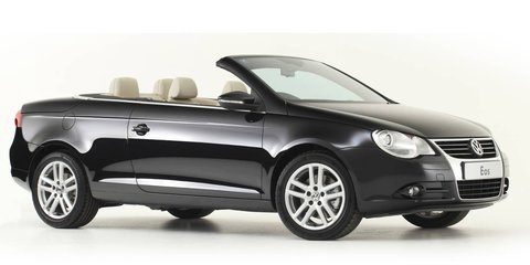 2011 Volkswagen Eos gets Golf GTI 155kW engine