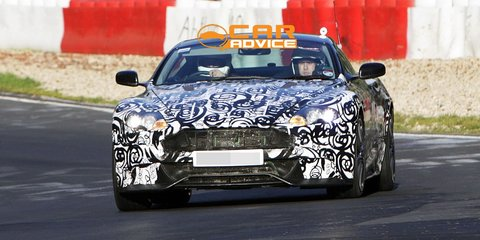 Aston Martin DBS Facelift Spy Photos