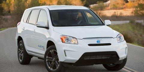 Toyota RAV EV Debuts At LA Auto Show Photos CarAdvice - La auto show car debuts