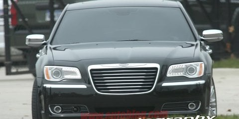 2012 Chrysler 300C spotted without camouflage