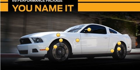 2012 Ford Mustang V6 Performance Package naming contest on Facebook