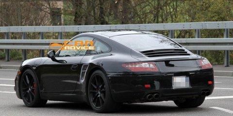 2012 Porsche 911 spy shots