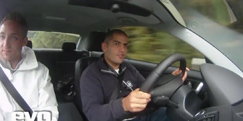 Video: BMW 1 Series M Coupe driven by EVO