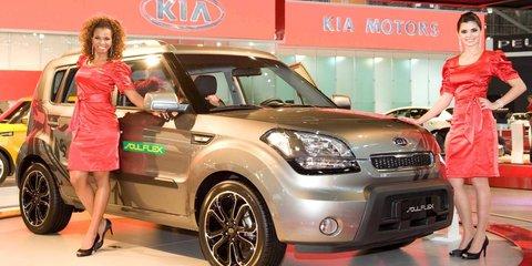 Kia Soul Flex at Brazilian Motor Show
