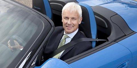 Porsche CEO Matthias Mueller downplays possible F1 inclusion