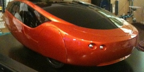 Urbee Hybrid world's first 3D printed car unveiled at SEMA show