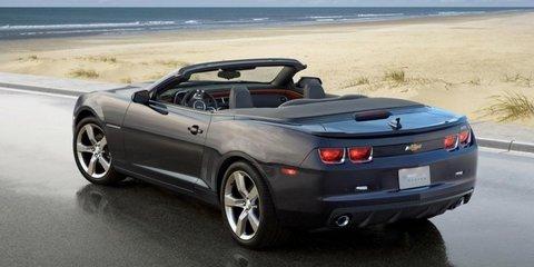 2011 Chevrolet Camaro convertible coming to Australia