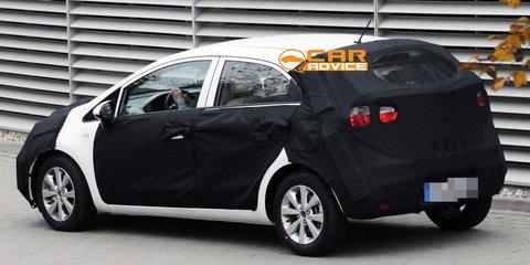 2011 Kia Rio Spy Photos