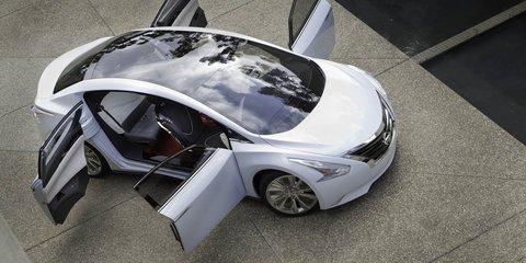 Nissan Ellure Concept at Los Angeles Auto Show