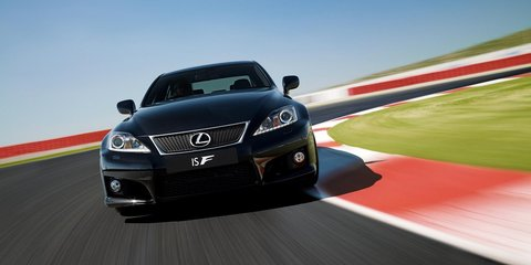 2011 Lexus IS F update launched in Australia