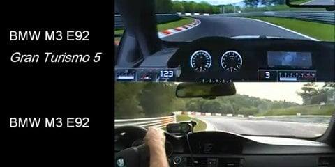 Video: Gran Turismo 5 Nurburging virtual vs reality