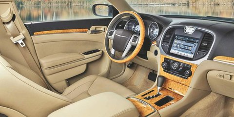 2012 Chrysler 300C interior image leaked