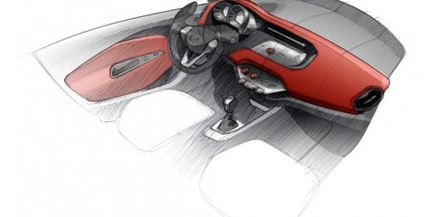 2011 Kia Rio first official sketches, coming to Australia July/August