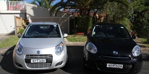 Suzuki Alto v Nissan Micra: light car comparison