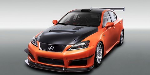 2011 Lexus IS F Club Sport editions unveiled at Tokyo Auto Salon