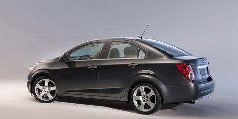 2011 Holden Barina hatch & sedan revealed in Detroit