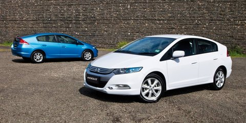 Honda Insight VTi-L v Toyota Prius: hybrid car comparison