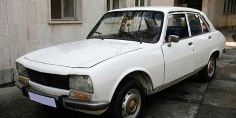 Iranian President's 1977 Peugeot 504 attracts $1M offer