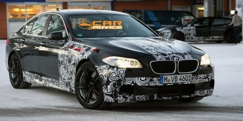 2012 BMW M5 teased in new video