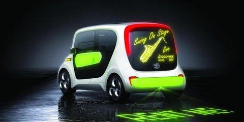 EDAG Light Car Sharing Concept at Geneva Motor Show