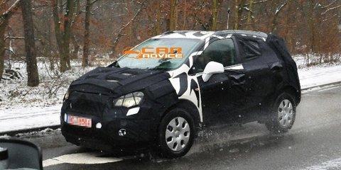 2012 Opel Corsa/Sonic SUV spy shots