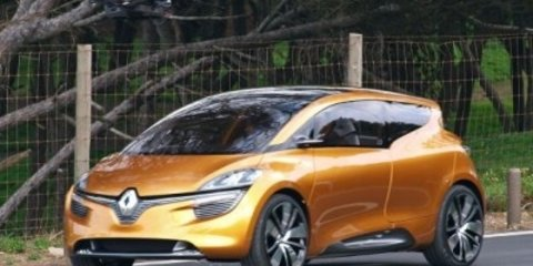 Video: Renault R-Space Concept caught during photoshoot