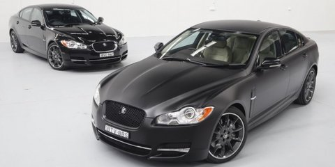 Jaguar XF 'Stealth' car scoop